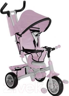 Детский велосипед с ручкой Lorelli B302A (розовый)
