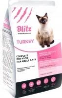 Корм для кошек Blitz Adult Cats Turkey (10кг) -