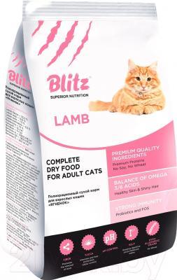 Корм для кошек Blitz Adult Cats Lamb (10кг)
