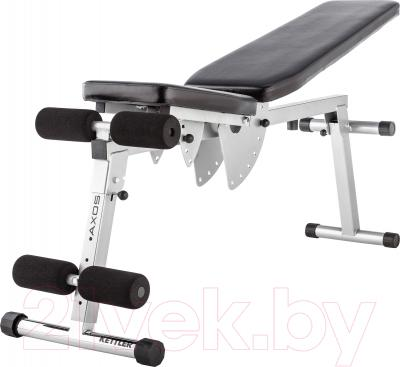 Скамья спортивная KETTLER Axos Universal Bench 7629-800 (серый/черный)