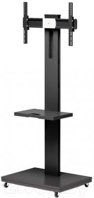 Стойка для ТВ/аппаратуры Holder PR-106 (черный) - Holder PR-106