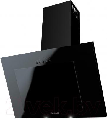 Вытяжка декоративная MAAN Vertical 60 (черный, без стекла)
