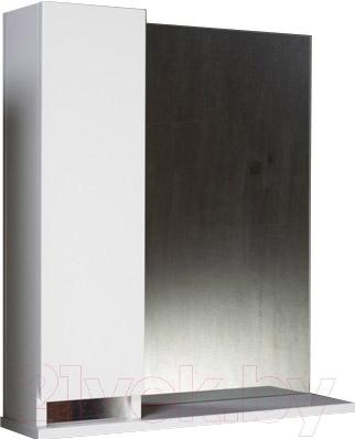 Шкаф с зеркалом для ванной Asomare Бергамо 60 (47.02-01)