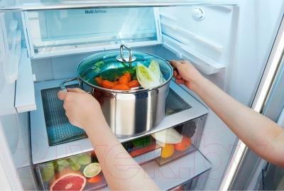 Холодильник с морозильником LG GA-B489SGKZ