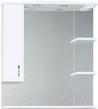 Шкаф с зеркалом для ванной Asomare Романа 80 (07.06-01)
