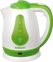 Электрочайник Scarlett SC-EK18P30 (белый/зеленый) -