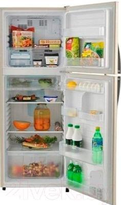 Холодильник с морозильником Sharp SJ-311VBE