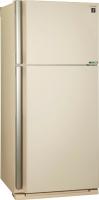 Холодильник с морозильником Sharp SJ-XE55PMBE -
