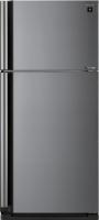 Холодильник с морозильником Sharp SJ-XE55PMSL -