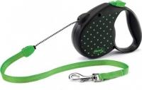 Поводок-рулетка Flexi Color Dots FLX443 (M, зеленый) -