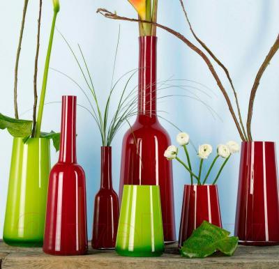 Ваза настольная Villeroy & Boch Mini-Vases Numa (сочный лайм) - вид в интерьере