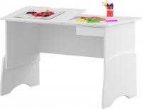 Стол детский Meblik Max Ergo 422 Desk 12 (правый, белый) -
