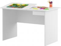 Стол детский Meblik Max 424 Desk 12 (левый, белый) -