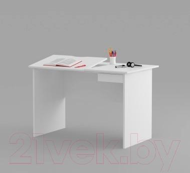 Стол детский Meblik Max 424 Desk 12 (левый, белый)
