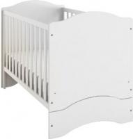 Детская кроватка Meblik 1014 Bed 140 (белый) -