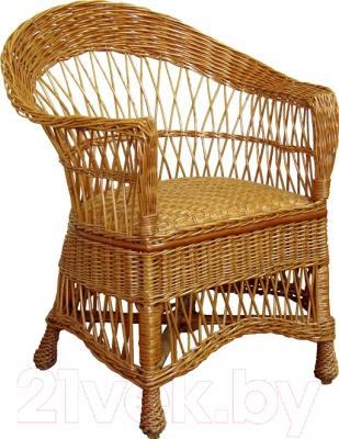 Кресло садовое Черниговская  фабрика лозовых изделий Татьяна (натуральный)