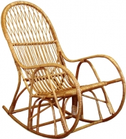 Кресло-качалка Черниговская  фабрика лозовых изделий КК 4 (натуральный) -