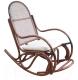 Кресло-качалка Черниговская  фабрика лозовых изделий Бриз №1 (медовый, с подушкой) -