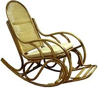 Кресло-качалка Черниговская  фабрика лозовых изделий Бриз №1 (натуральный, с подушкой) -