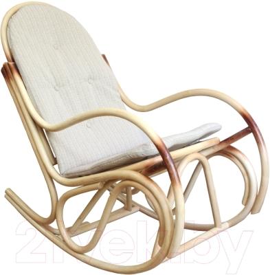 Кресло-качалка Черниговская  фабрика лозовых изделий Бриз (натуральный, с подушкой)