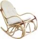 Кресло-качалка Черниговская  фабрика лозовых изделий Бриз (натуральный, с подушкой) -