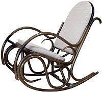 Кресло-качалка Черниговская  фабрика лозовых изделий Олимп (орех, с подушкой) -