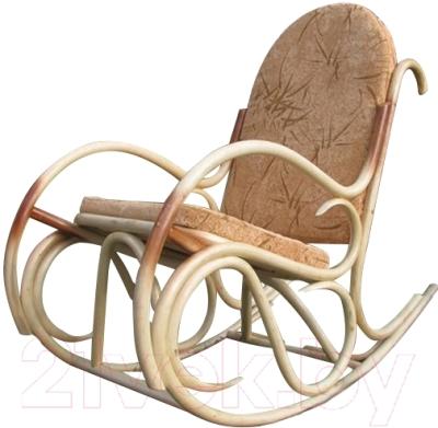 Кресло-качалка Черниговская  фабрика лозовых изделий Олимп (натуральный, с подушкой)