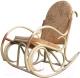 Кресло-качалка Черниговская  фабрика лозовых изделий Олимп (натуральный, с подушкой) -