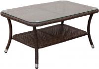 Журнальный столик Седия Costa Rica (сталь/коричневый) -