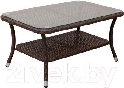 Журнальный столик Седия Costa Rica (сталь/коричневый)