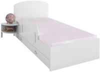 Односпальная кровать Meblik 173 Bed 90x190 (белый) -