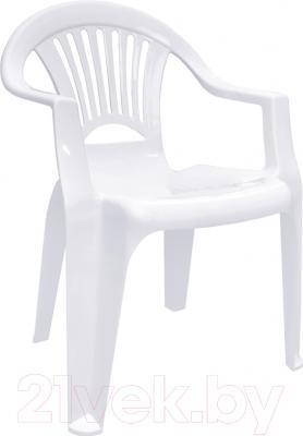Стул пластиковый Алеана Луч (белый)