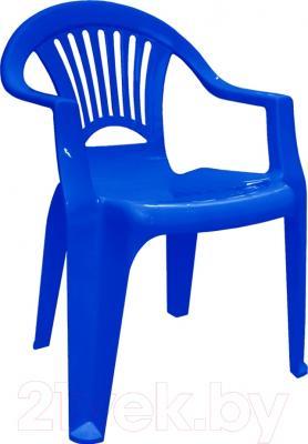 Стул пластиковый Алеана Луч (темно-синий)