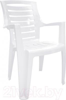 Стул пластиковый Алеана Рекс (белый)
