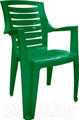 Стул пластиковый Алеана Рекс (зеленый)