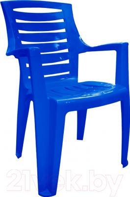 Стул пластиковый Алеана Рекс (темно-синий)