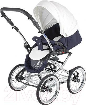 Детская универсальная коляска Adamex Katrina (10W) - прогулочный блок на примере модели другого цвета