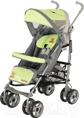 Детская прогулочная коляска Adamex Jimmy (зеленый)