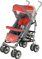 Детская прогулочная коляска Adamex Jimmy (красный) -