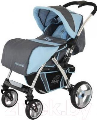 Детская прогулочная коляска Adamex Rally (голубой)