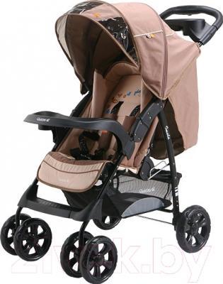 Детская прогулочная коляска Adamex Imola (бежевый)