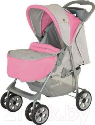 Детская прогулочная коляска Adamex Imola (бежевый) - внешний вид на примере модели другого цвета
