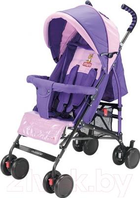 Детская прогулочная коляска Adamex Mini (фиолетовый)