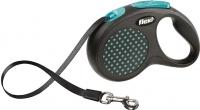 Поводок-рулетка Flexi Design FLX431 (M-L, синий, ременной) -