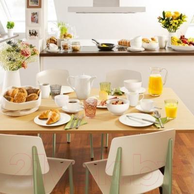 Набор столовой посуды Villeroy and Boch For Me (6пр) - посуда Villeroy and Boch (пример сервировки)