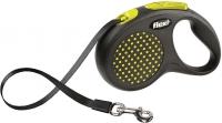 Поводок-рулетка Flexi Design FLX430 (M-L, желтый, ременной) -