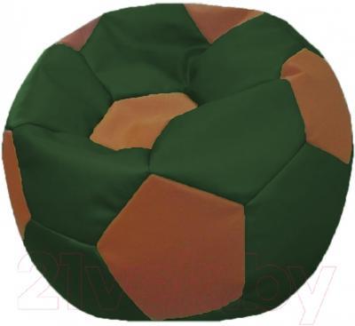 Бескаркасное кресло Flagman Мяч Стандарт М1.3-25 (темно-оливковый/коричневый)