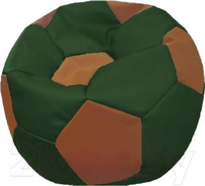 Бескаркасное кресло Flagman Мяч Стандарт М1.3-0107 (зеленый/коричневый)