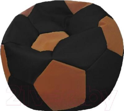Бескаркасное кресло Flagman Мяч Стандарт М1.3-1607 (черный/коричневый)