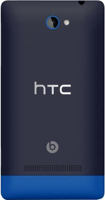 Смартфон HTC Windows Phone 8S Blue - задняя крышка